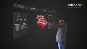 Srdce v rozšírenej realite s Microsoft Hololens
